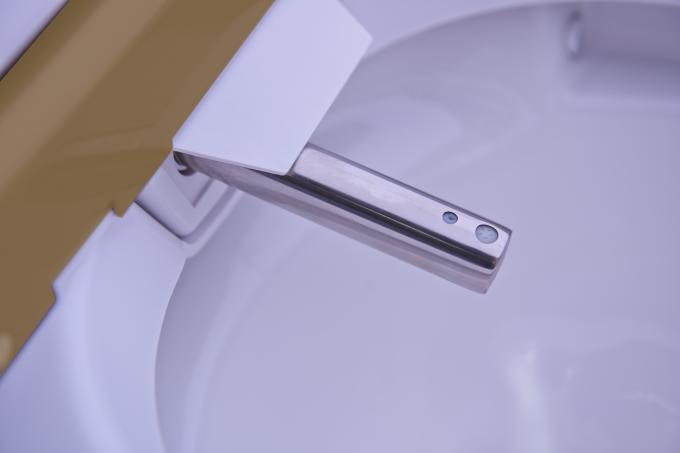 Electric Intelligent One Piece Toilet , Automatic  Washing smart one piece toilet