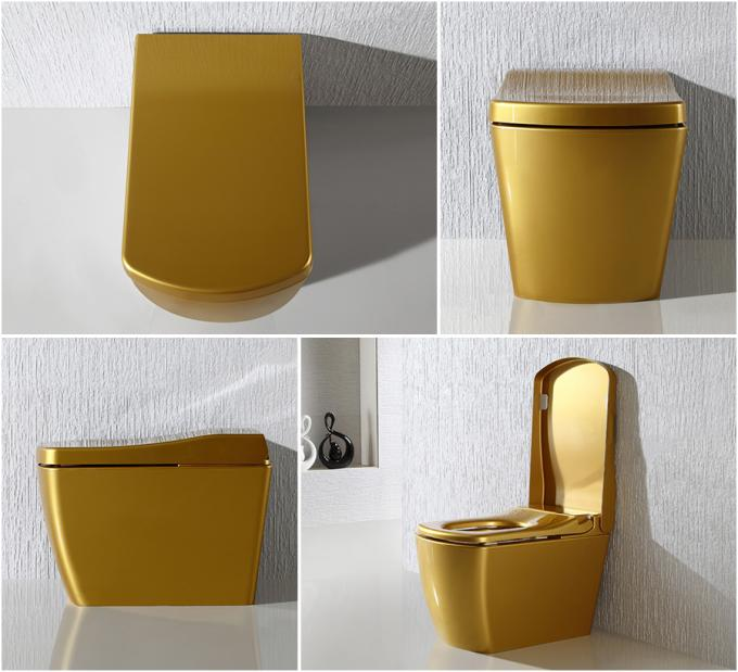 Golden Intelligent Auto Wash Toilet Personal Hygiene Cleaning smart toilet
