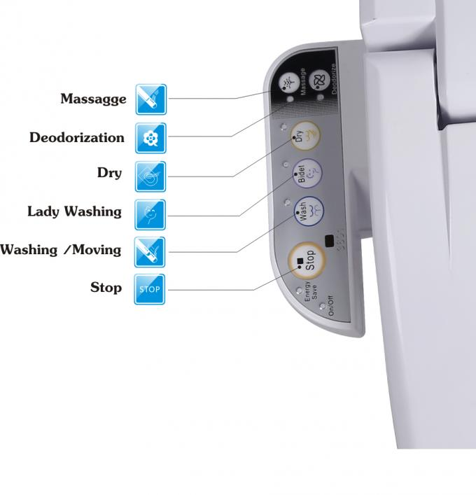 Promotional Sanitary Ware Automatic Heating Intelligent Toilet Bidet Seat Cover