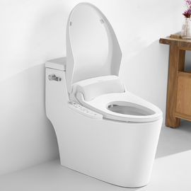 China Plastic Cover Electric Heated Bidet , Automatic Toilet Seat Cover Self Cleaning supplier