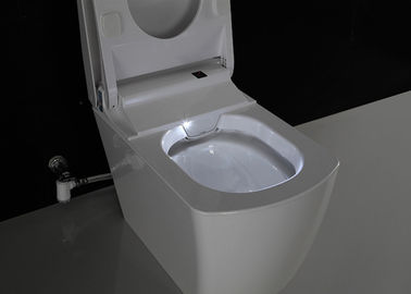 China Smart Automatic Toilet Electric One Piece Toilet Intelligent P / S Trap Drainage supplier