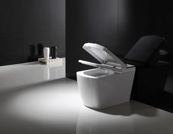 Electric Bathroom One Piece Toilet , Smart Bidet Toilet Female Washing