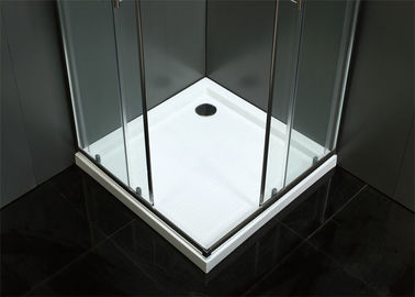 China Reversible Frameless Bathroom Shower Room Silver Color Easy Installation factory