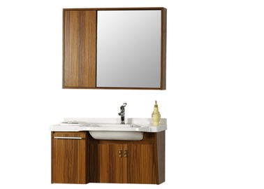 China 12 Inch Deep Base Bathroom Vanity Cabinets Vanity Combo Type Wooden Material distributor
