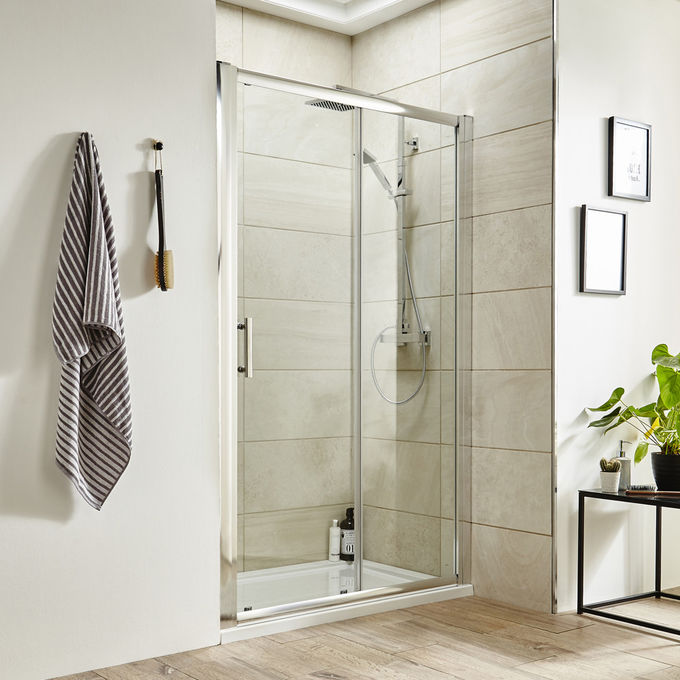 Economical Glass Shower Enclosures , Shower Rooms For Small Spaces Highly Durable